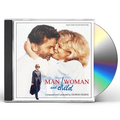 Georges Delerue MAN WOMAN & CHILD / Original Soundtrack CD