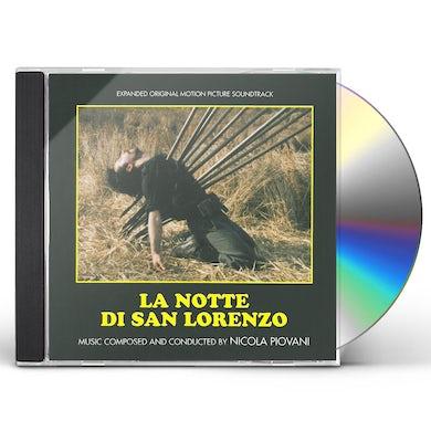 Nicola Piovani LA NOTTE DI SAN LORENZO / Original Soundtrack CD