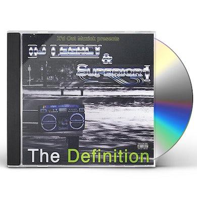 DJ Legacy DEFINITION CD