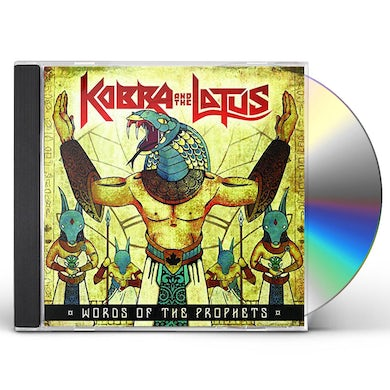Kobra And The Lotus WORDS OF THE PROPHETS CD