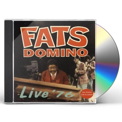 Fats Domino LIVE '76 CD
