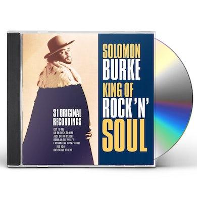 Solomon Burke KING OF ROCK N SOUL CD