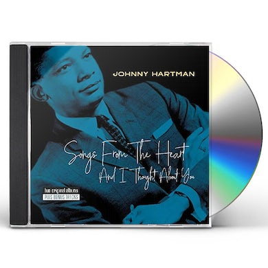 Johnny Hartman SONGS FROM THE HEART / & I THOUGHT ABOUT YOU CD
