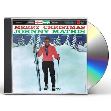 Johnny Mathis MERRY CHRISTMAS CD
