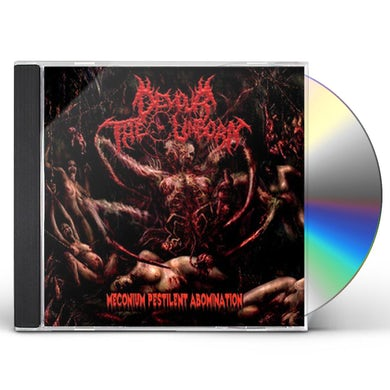 Devour the Unborn MECONIUM PESTILENT ABOMINATION CD