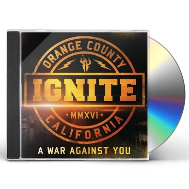 Ignite WAR AGAINST YOU CD