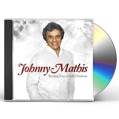 Johnny Mathis SENDING YOU A LITTLE CHRISTMAS CD