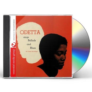 Odetta BALLADS & BLUES CD