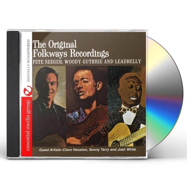 Woody Guthrie ORIGINAL FOLKWAYS RECORDINGS CD