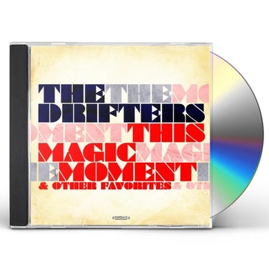 Drifters THIS MAGIC MOMENT & OTHER FAVORITES CD