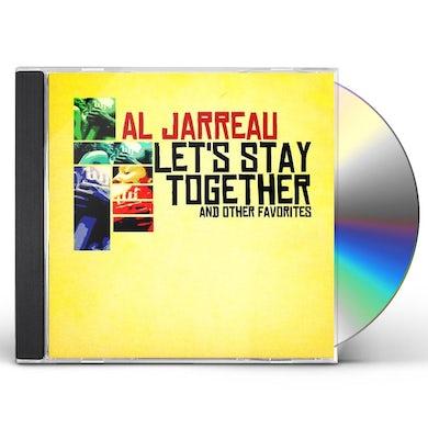 Al Jarreau LET'S STAY TOGETHER & OTHER FAVORITES CD