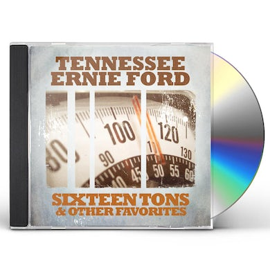 Tennessee Ernie Ford SIXTEEN TONS & OTHER FAVORITES CD