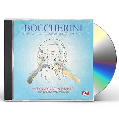 Boccherini STRING QUINTET IN E MAJOR OP 11 NO 5 CD