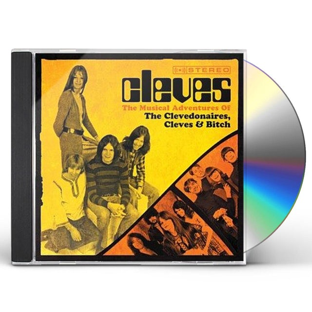 MUSICAL ADVENTURES OF CLEVEDONAIRES THE CLEVES & CD