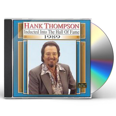 Hank Thompson COUNTRY MUSIC HALL OF FAME 1989 CD