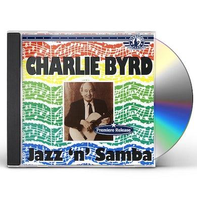 Charlie Byrd JAZZ & SAMBA CD