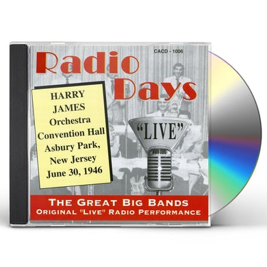 Harry James CONVENTION HALL CD