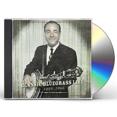 Earl Scruggs CLASSIC BLUEGRASS LIVE: 1959-1966 CD