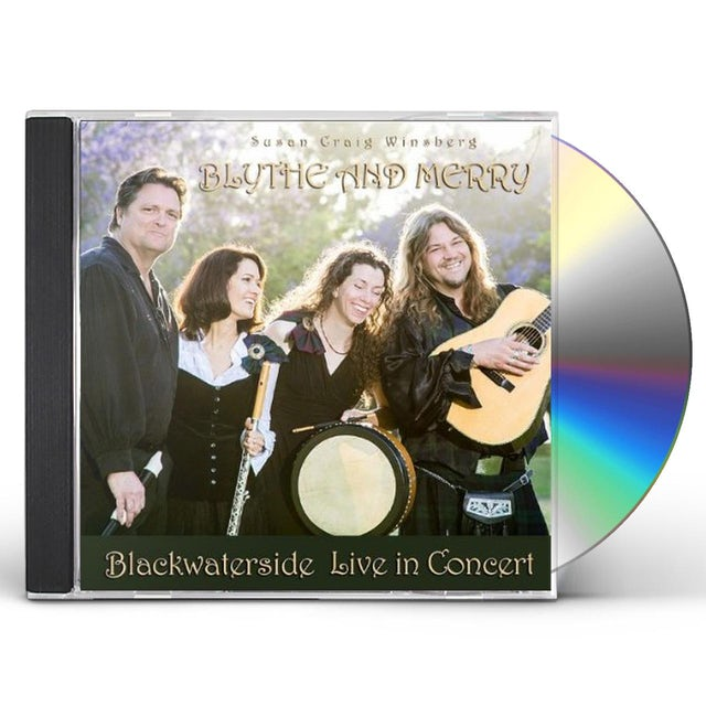Susan Craig Winsberg BLYTHE & MERRY (BLACKWATERSIDE LIVE IN CONCERT) CD