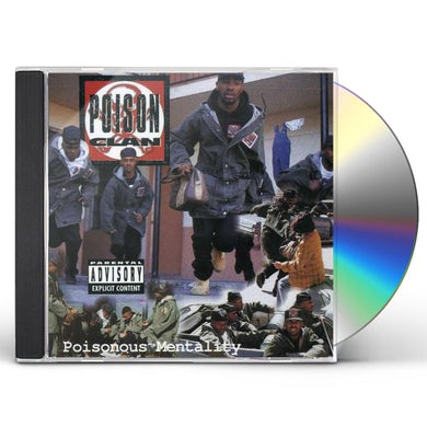 POISONOUS MENTALITY CD