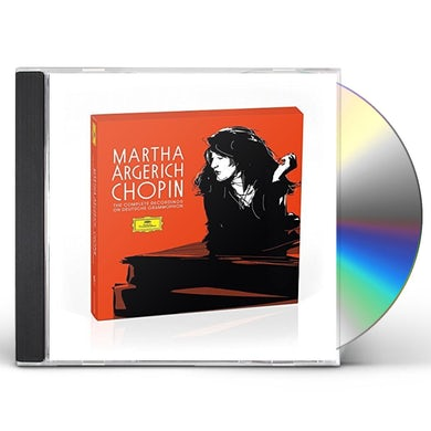 Martha Argerich CHOPIN THE COMPLETE CHOPIN RECORDINGS ON DEUTSCHE CD