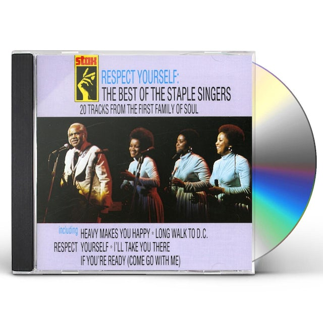 The Staple Singers RESPECT YOURSELF CD