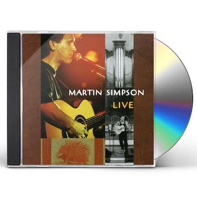 Martin Simpson LIVE CD