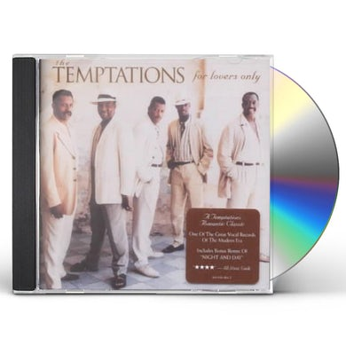 The Temptations FOR LOVERS ONLY CD