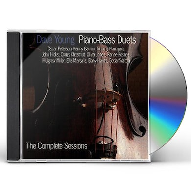 Dave Young PIANO BASS DUETS COMPLETE SESSIONS CD