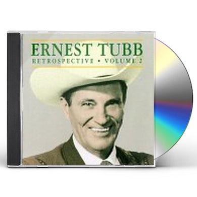 Ernest Tubb RETROSPECTIVE 2 CD