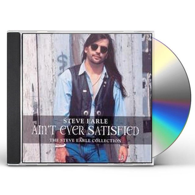 Steve Earle & The Dukes AIN'T EVER SATISFIED CD