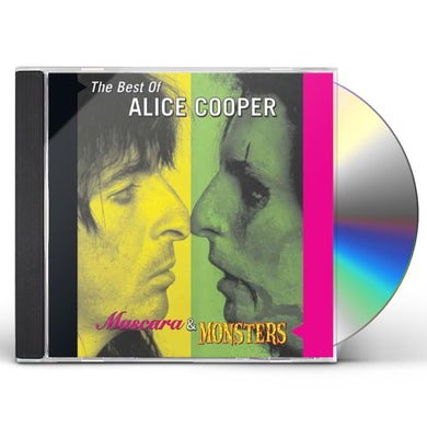 MASCARA & MONSTERS: THE BEST OF ALICE COOPER CD