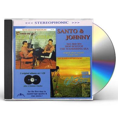 Santo & Johnny COME ON IN / OFF SHORE CD