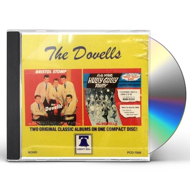 Dovells BRISTOL STOMP / FOR YOUR HULLY CD