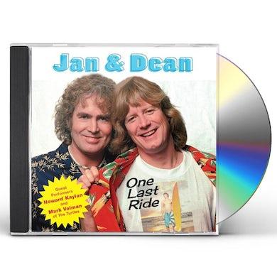 Jan & Dean ONE LAST RIDE CD