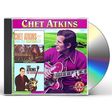 Chet Atkins & HIS GUITAR: EARLY YEARS / GUITAR GENIUS CD