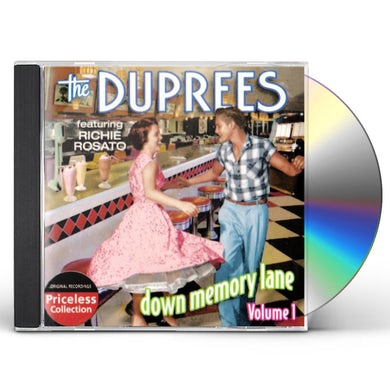 Duprees DOWM MEMORY LANE 1 CD