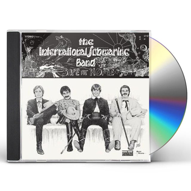International Submarine Band SAFE AT HOME CD