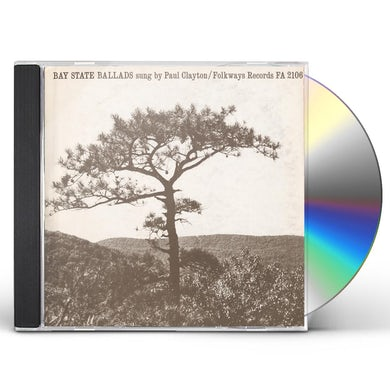 Paul Clayton BAY STATE BALLADS CD