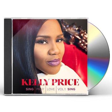 Kelly Price SING PRAY LOVE 1 CD