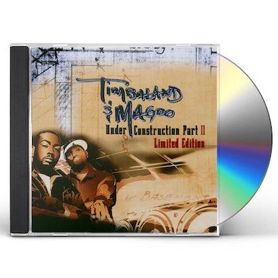 Timbaland & Magoo UNDER CONSTRUCTION II CD