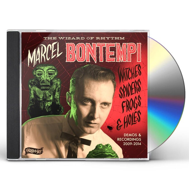 Marcel Bontempi WITCHES SPIDERS FROGS & HOLES: DEMOS & RECORDINGS CD