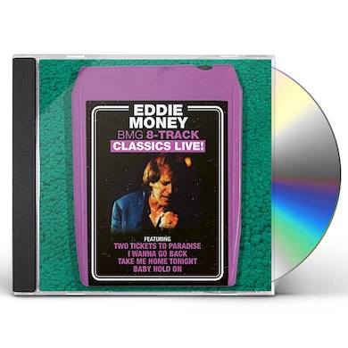 Eddie Money BMG 8-TRACK CLASSICS LIVE CD