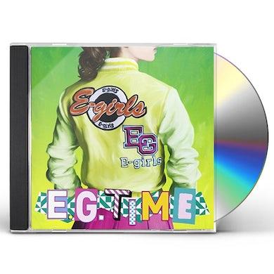 e-girls E.G. TIME CD