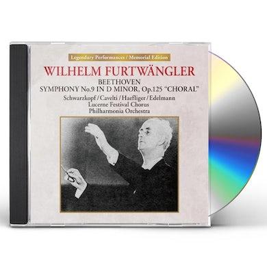 Wilhelm Furtwangler LUZERN NO DAI 9 CD
