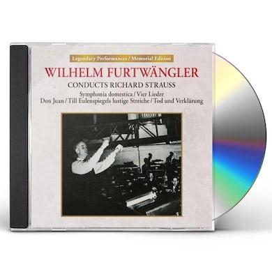 Wilhelm Furtwangler CONDUCTS RICHARD STRAUSS CD
