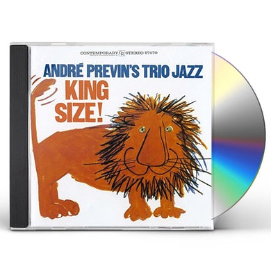 Andre Previn KING SIZE CD