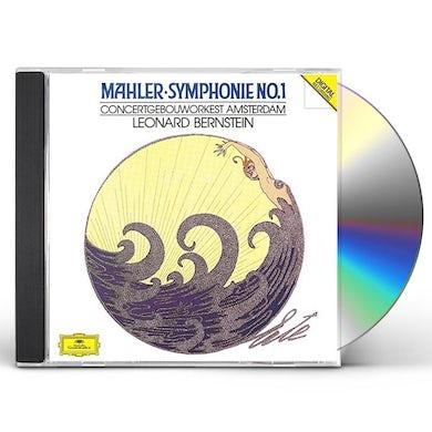 Leonard Bernstein MAHLER: SYMPHONY NO.1 CD