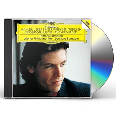 Leonard Bernstein MAHLER: LIEDER EINES FAHRENDEN CD