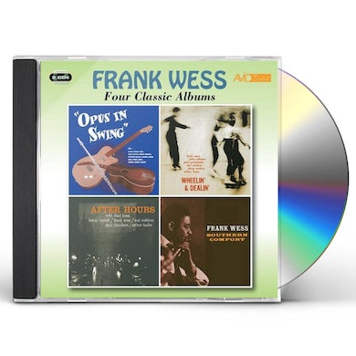 Frank Wess 4 CLASSIC ABLUMS PLUS CD